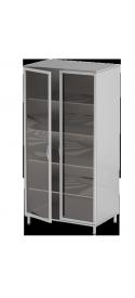 Шкаф медицинский металлический закрытого типа AT-S16